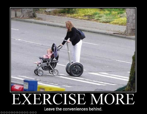 Try to be more active for fastest fat burning