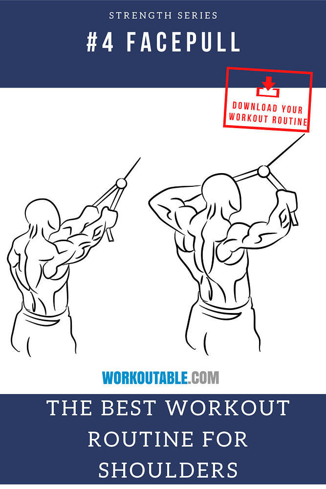 facepull for shoulders